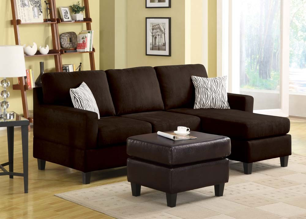 Remo Reversible Sectional - Chocolate