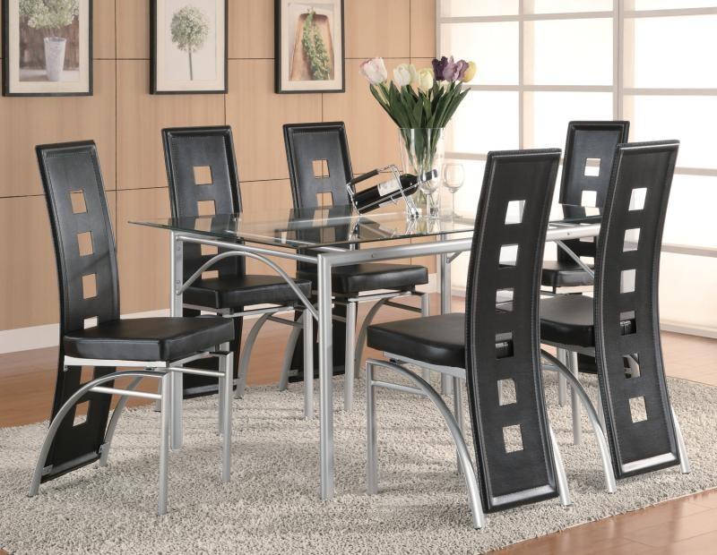 Los Feliz Metal Dining Table
