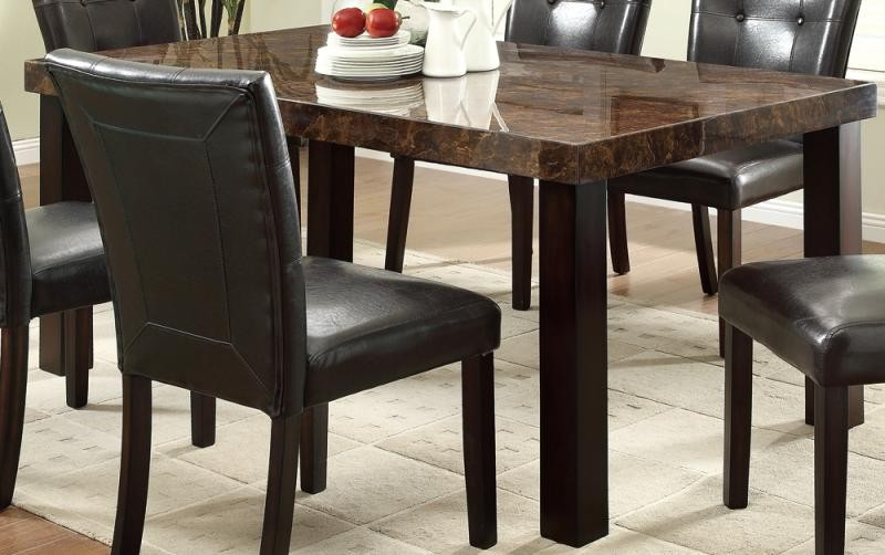Orlando dining table dining for Caprice marble dining table