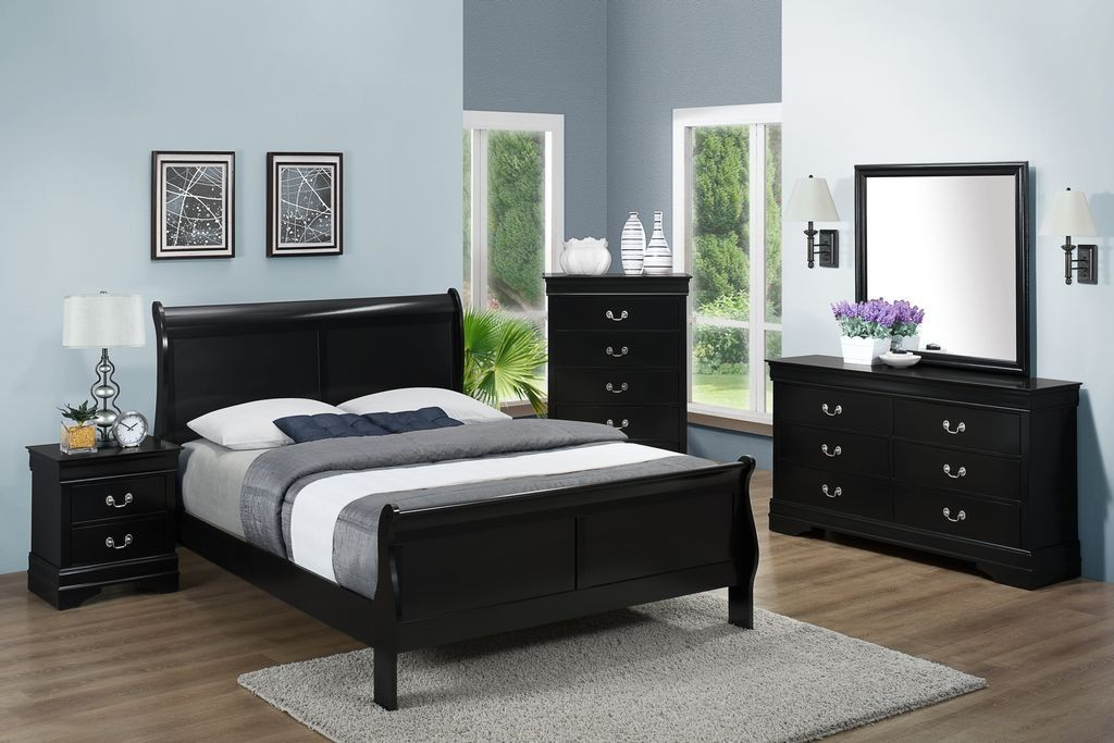 Marion 4pc Queen Bedroom Set Bedroom