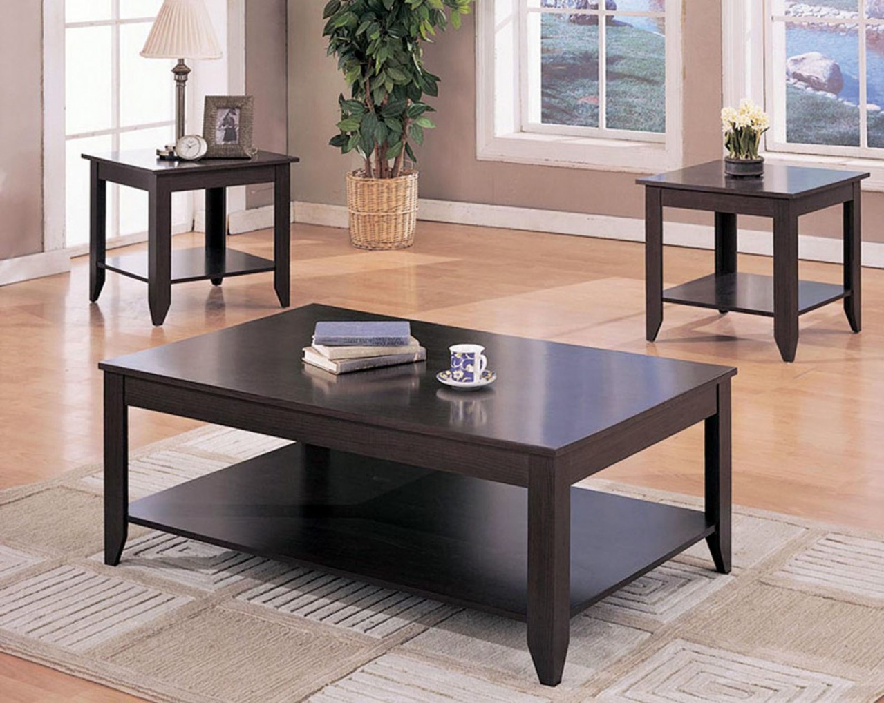 Agatha 3pc. Coffee Table Set
