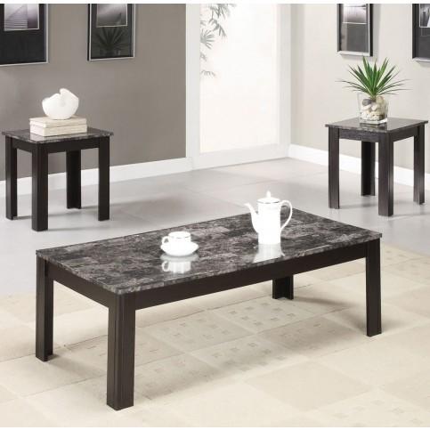 Jameson 3pc. Coffee table set<P>
