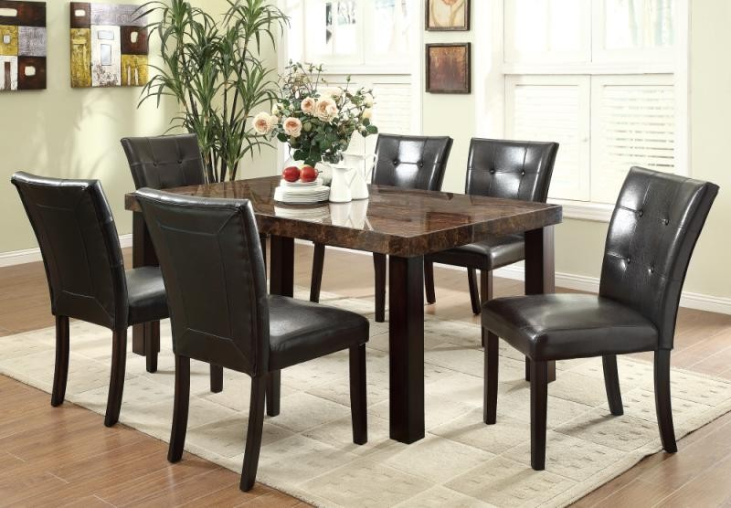 Orlando dining set for Caprice marble dining table