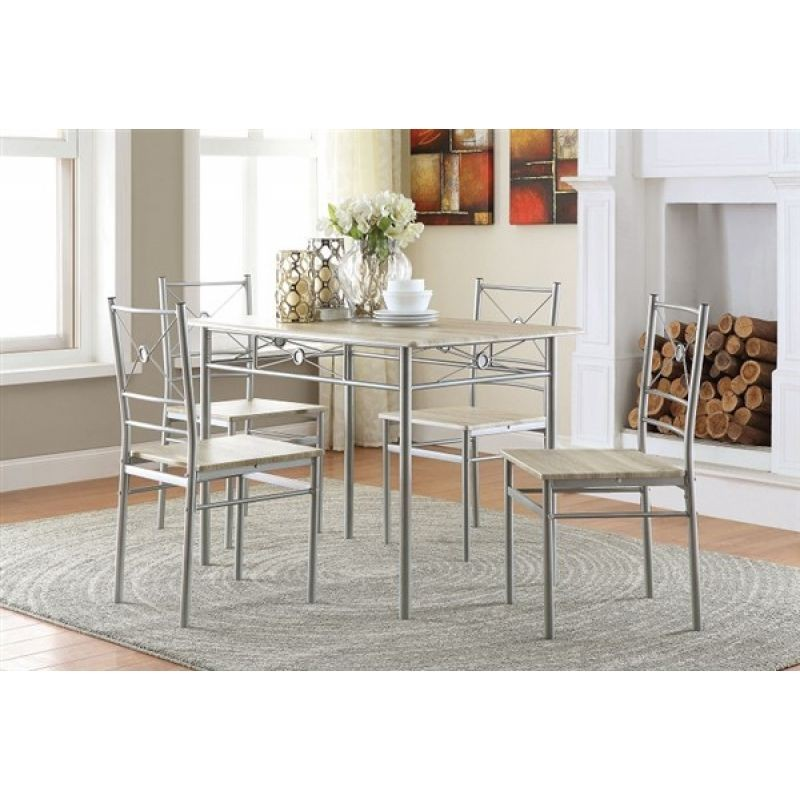 Arese 5pcs Dining Set