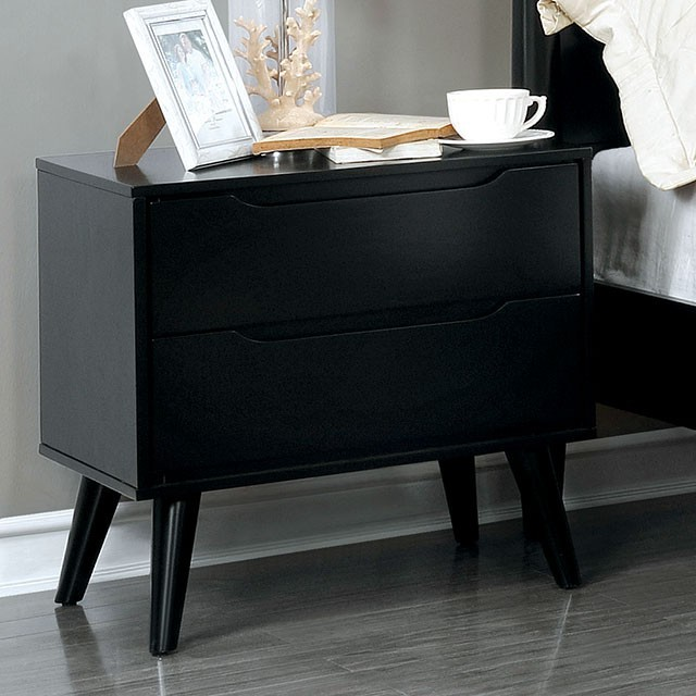 Park Avenue Nightstand in Black
