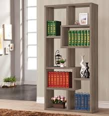 Luminar Bookcase in Weathered Gray