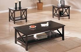 Sachin 3pc. Coffee Table Set