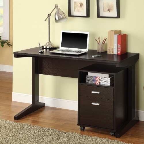 Corbin Desk and File Cabinet Set