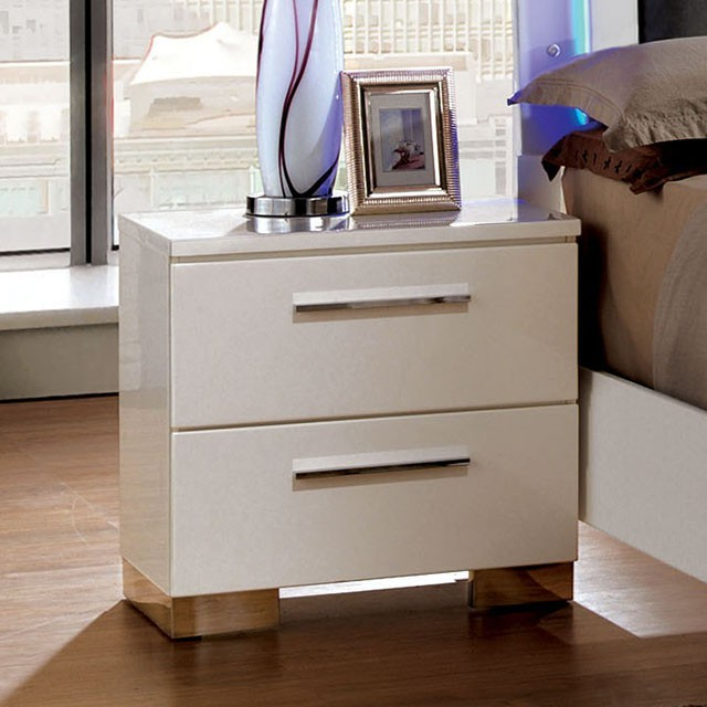 Glam High Gloss Nighstand
