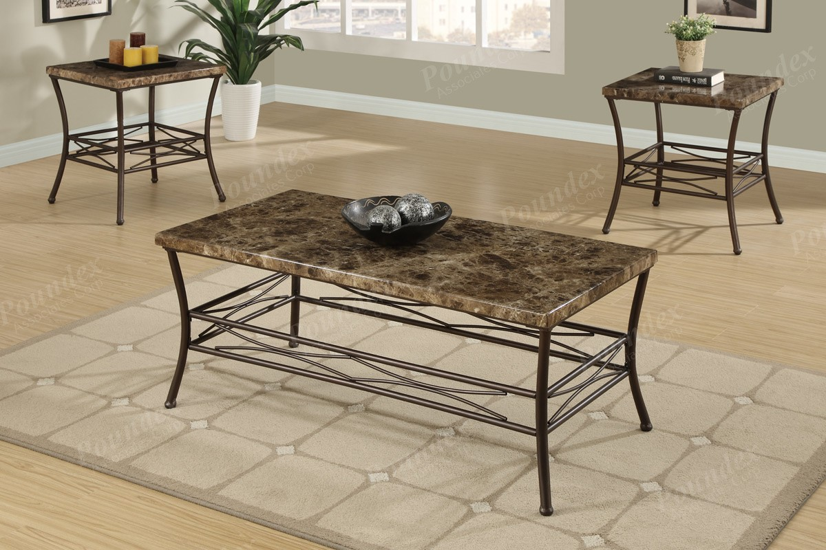 Venetian 3pc. Coffee Table Set