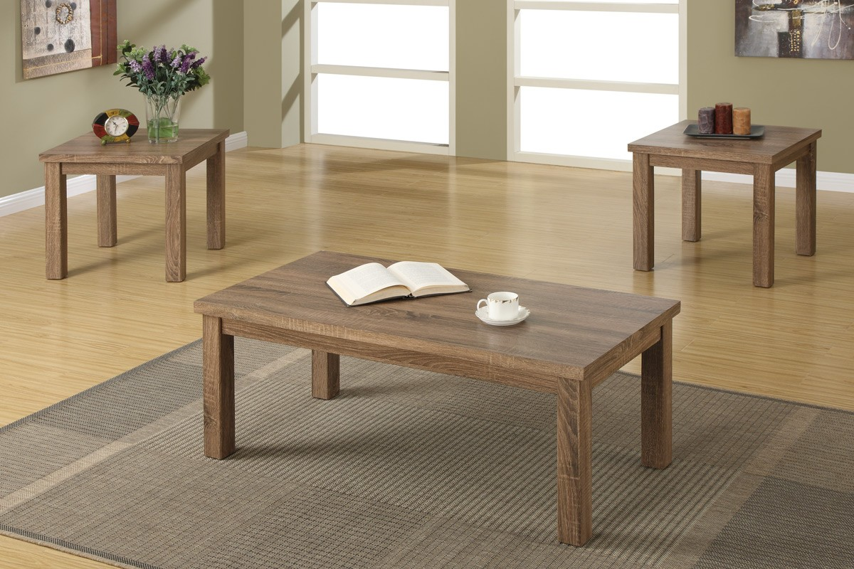 Rustico 3pc. Coffee table set