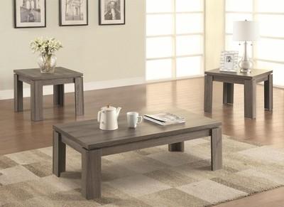 Urbana 3pc. Coffee Table set grey