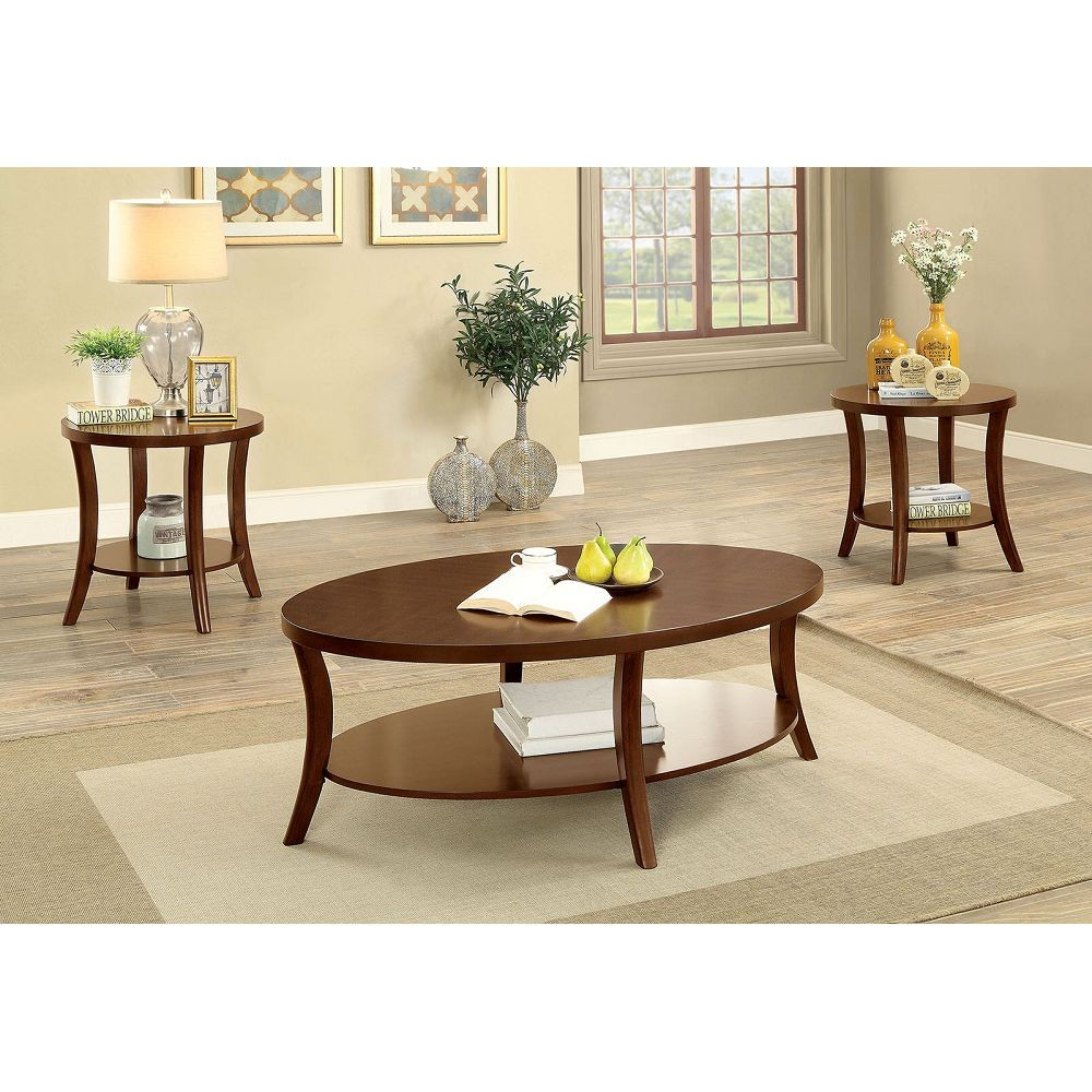 CM4334-3PK  Paola 3pc. Coffee Table set