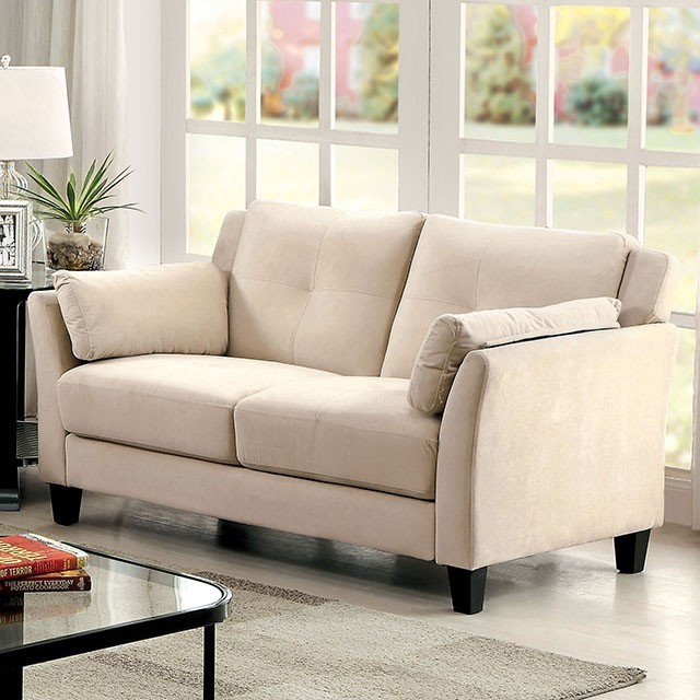 Ysabel Loveseat in Beige