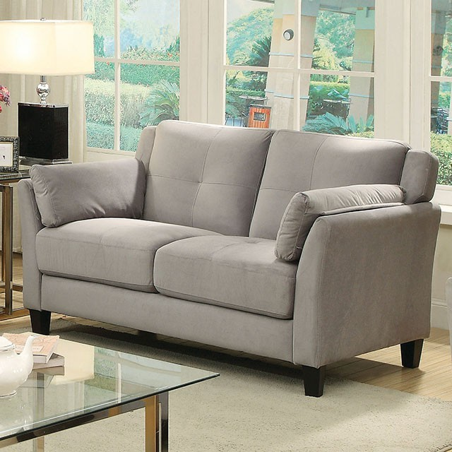 Ysabel Loveseat in grey