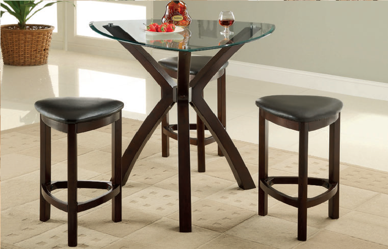 Zurich 4pc. Counter Height Dining Set