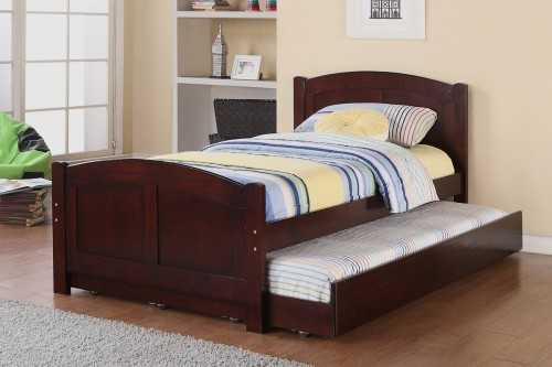 Colton Twin Platform Bed frame and Trundle