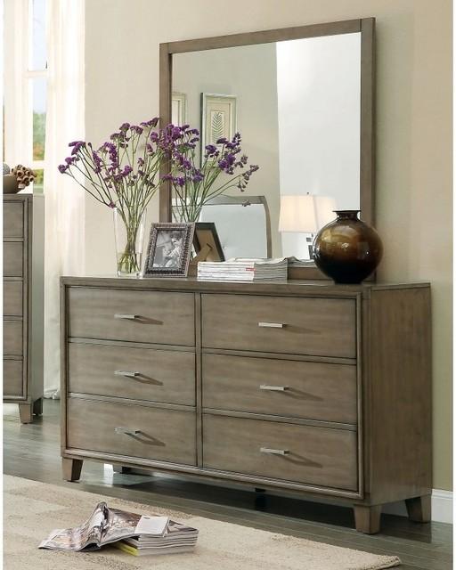 Norway Dresser in warm brown grey