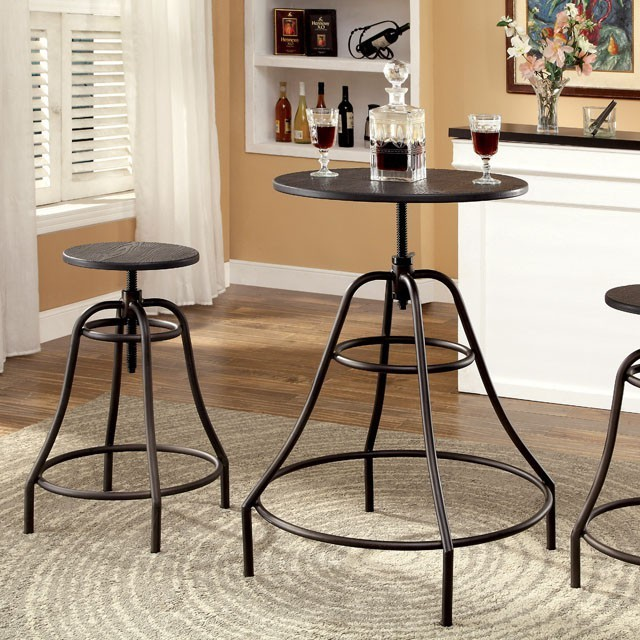 Forte 3pc. Bar Table Set