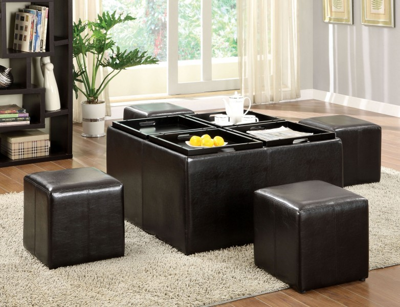 Holloway Ottoman With Storage Ottomans And Flip Tray