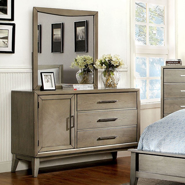 Asher Dresser in grey