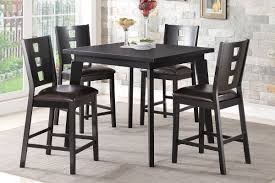 Parker 5pc. Counter Height Dining Set in Black