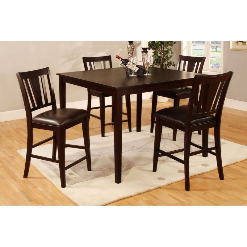 Palmetto 5pc. Counter Height Dining Set