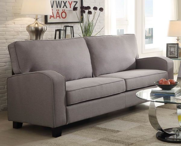 Nova Sofa In Grey Living Room
