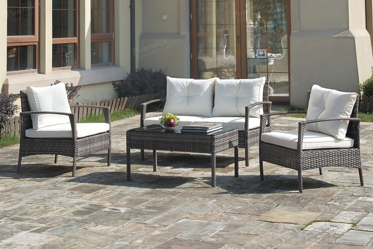 Ambrosia 4pc. Outdoor Set