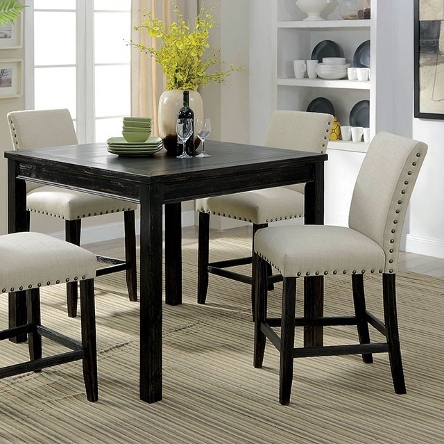 Kristie 5pc. Counter Height Dining Set