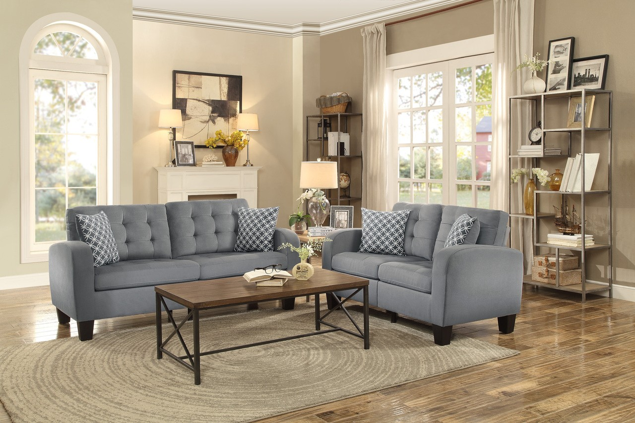 Arden 2pc. Sofa and Loveseat Set