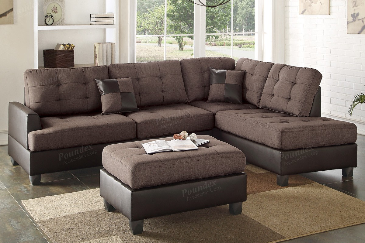 Ancel 2pc. Sectional and Ottoman