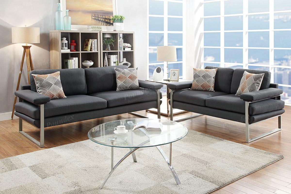 Laguna 2pc Sofa and Loveseat set
