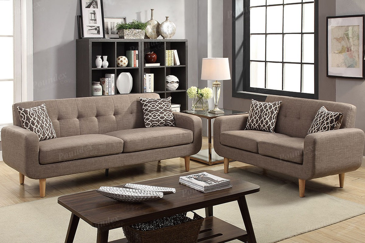 SALE! Montreal 2pc. Sofa and Loveseat with Accent Pillows