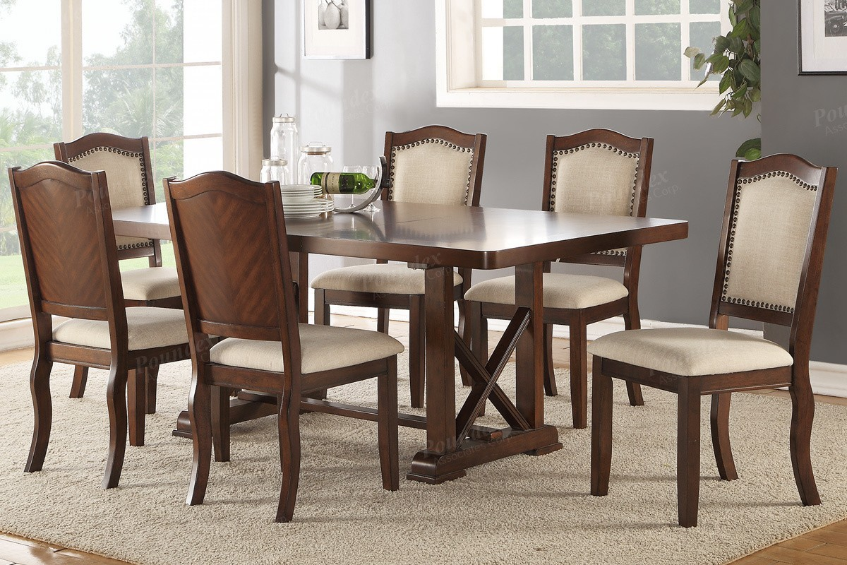 Abbyson II 7pc. Dining Set with Leaf