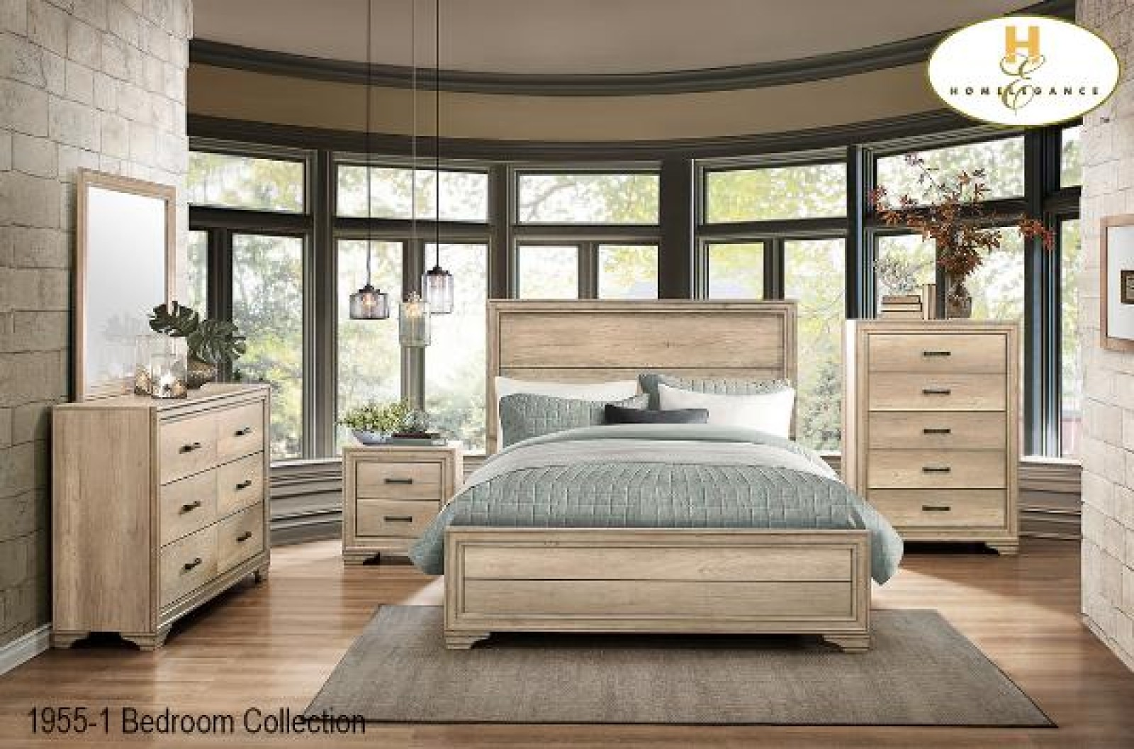 Groveland 4pc. Queen Bedroom Set