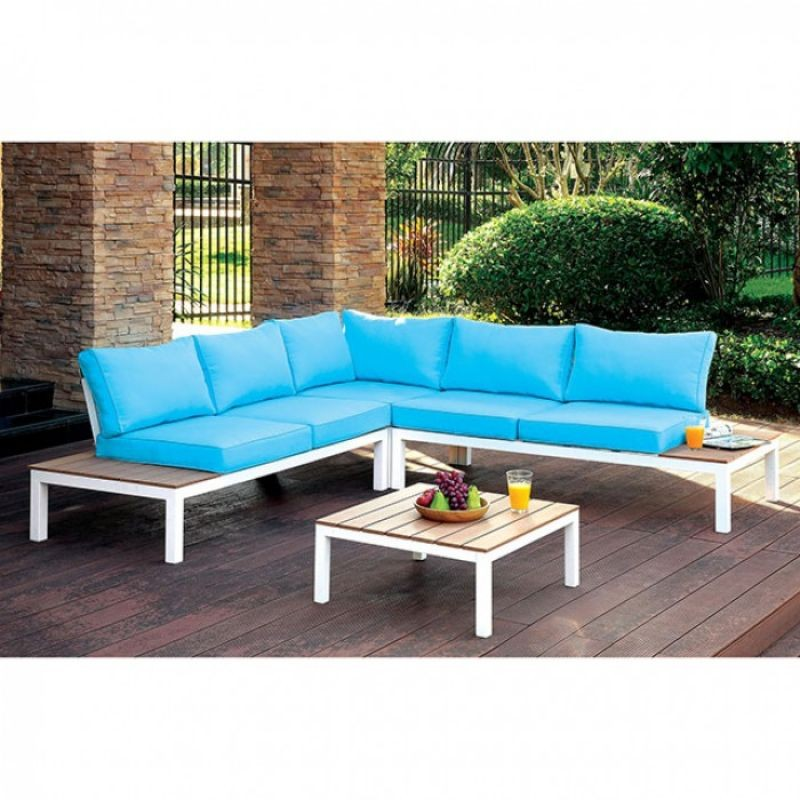Winona Patio Sectional with Ottoman