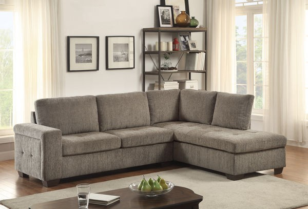 Candice Sectional with full size sleeper