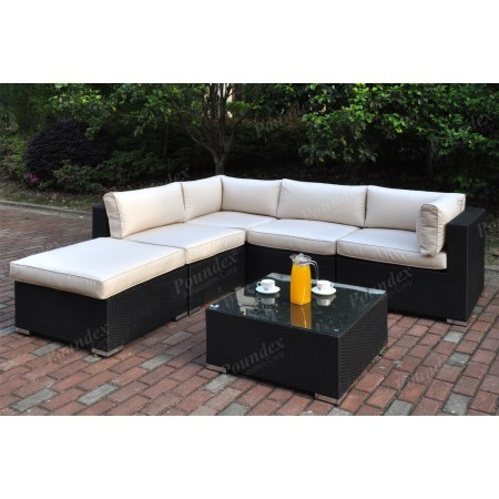 Bristol 6pc. Modular Outdoor Set with Cocktail table