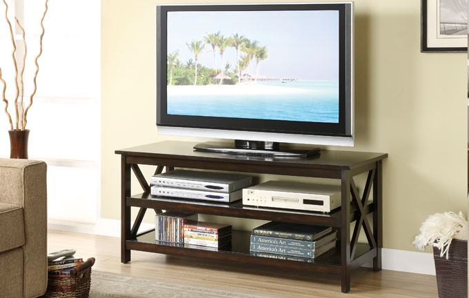 X Wood Design TV Stand