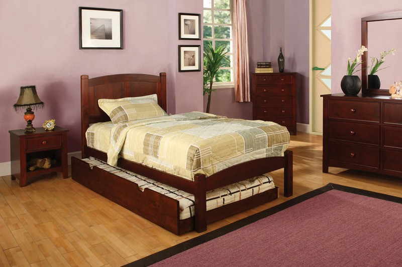 Casey Twin bed with Trundle