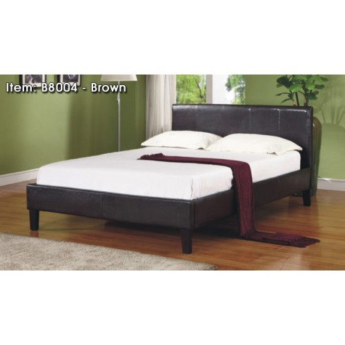 Europa Bed - Brown