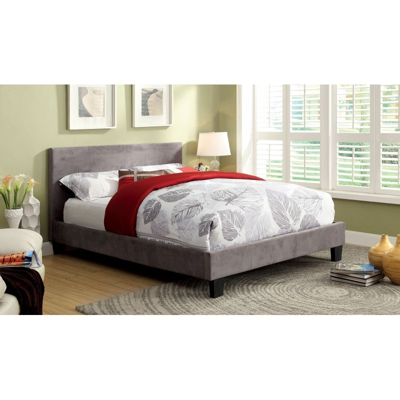 New Park Bed - Gray Fabric