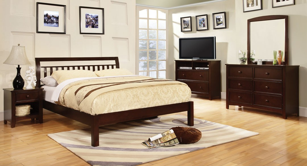Corry Bedroom Set - Espresso
