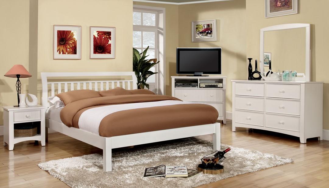 Corry Bedroom Set - White