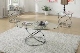 Mirage 3pc. Coffee table Set