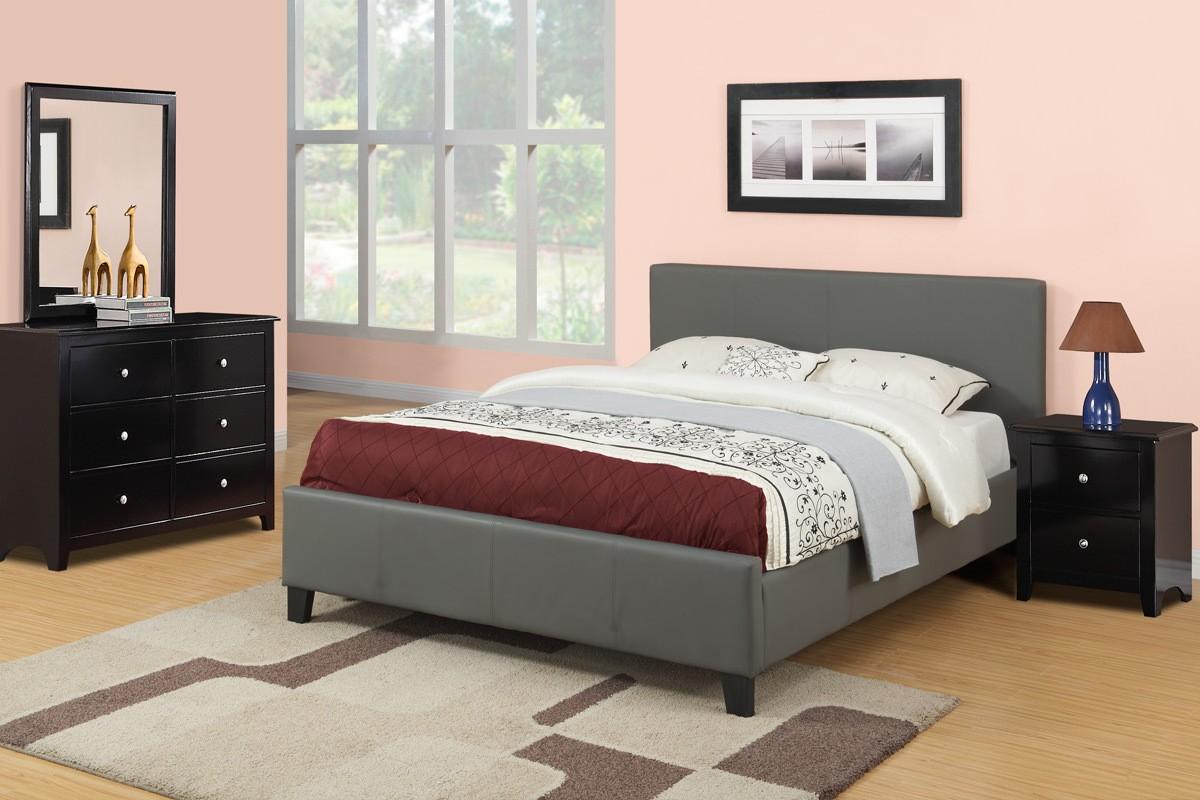 Nova Bedroom Set Gray