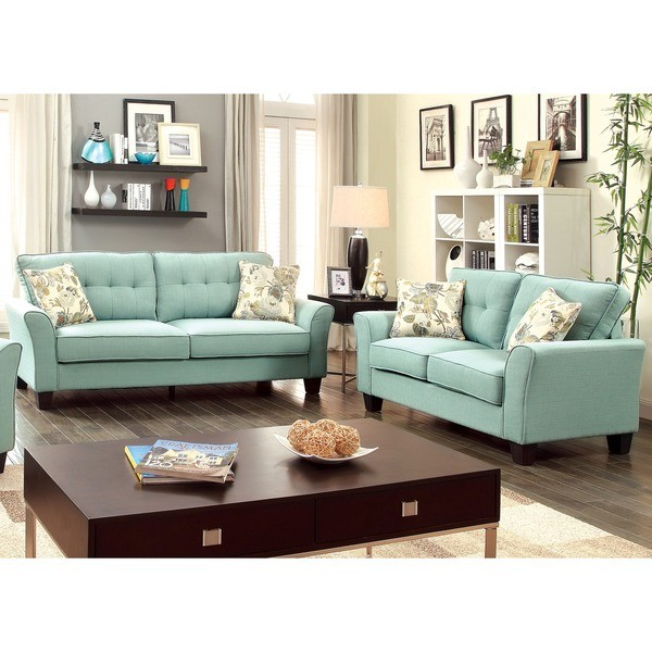 Primavera 2pc sofa and loveseat sofa sets living room for 8 piece living room furniture set