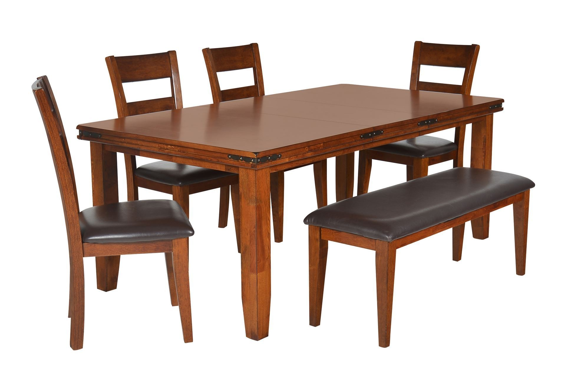 6 piece dining set ashley berringer 6piece dining set for Caprice marble dining table