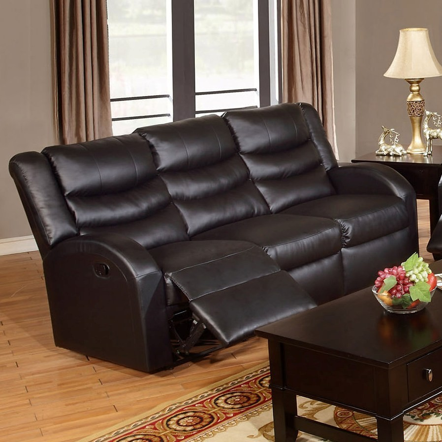 Bose Reclining Sofa Black Sofas Living Room
